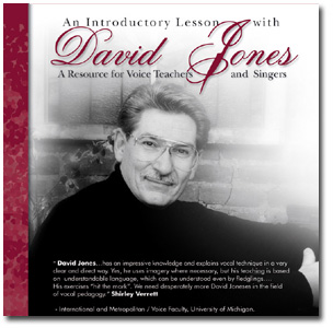 David Jones - The Voice Teacher Dot Com